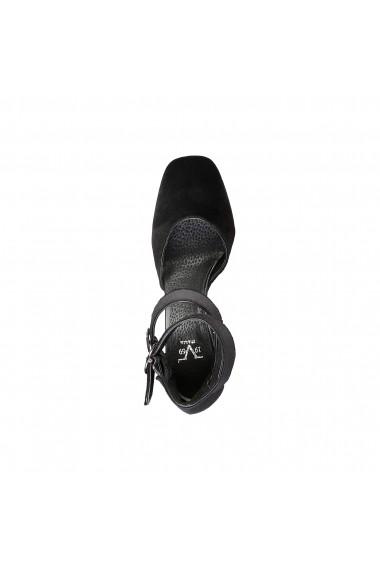 Pantofi cu toc Versace 1969 VERONIQUE NERO GLITTER negru