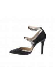 Pantofi cu toc Versace 1969 GENEVIEVE GRIGIO gri