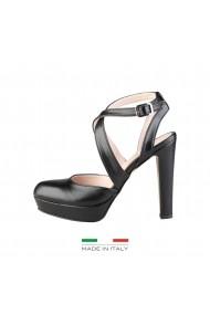 Sandale cu toc Versace 1969 INES NERO negru