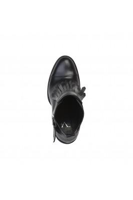Botine Versace 1969 CECILE_NERO negru
