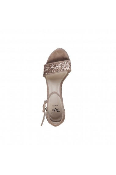 Sandale Versace 1969 CAMELIE TAUPE gri-bej