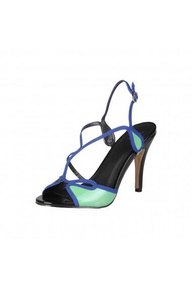 Sandale Versace 1969 JADE NERO-VERDE-BLU - els