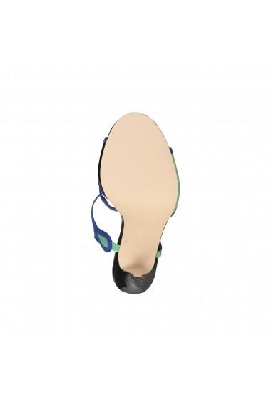 Sandale Versace 1969 JADE NERO-VERDE-BLU multicolor