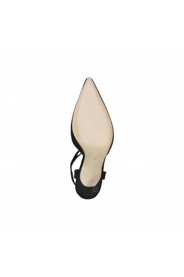 Pantofi cu toc Versace 1969 APOLLINE NERO negru
