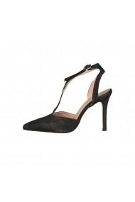 Pantofi cu toc Versace 1969 APOLLINE NERO