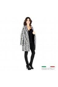 Palton Fontana 2.0 ALLEGRA S04RESCATO alb, negru