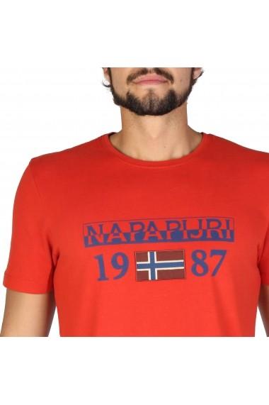 Tricou Napapijri N0YI8FA60 Portocaliu