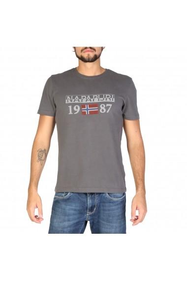 Tricou Napapijri N0YI8F198 Gri