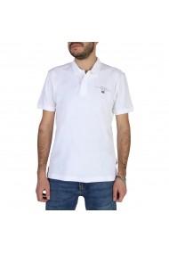 Tricou Polo Napapijri ELBAS3 NP0A4EGC0021 Alb