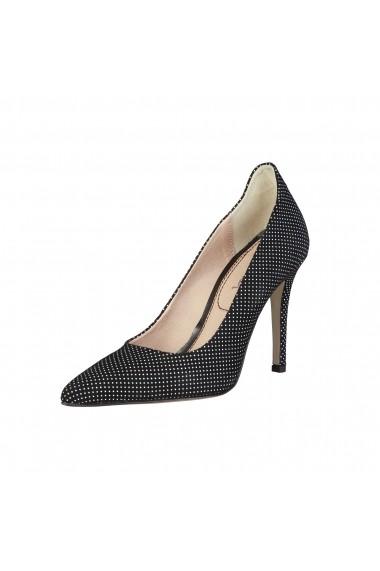 Pantofi cu toc Pierre Cardin LUCILE NERO