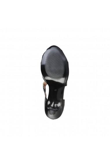 Sandale Pierre Cardin BLANDINE NERO negru
