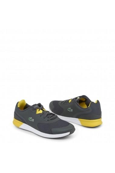 Pantofi sport Lacoste 734SPM0035_LTR_DKGRY-YLW