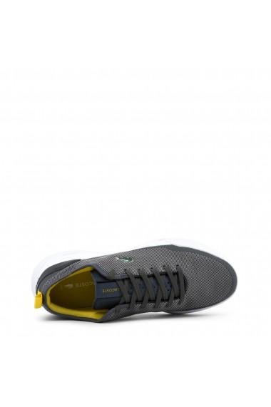 Pantofi sport Lacoste 734SPM0007_LT-DUAL_DKGRY-YLW