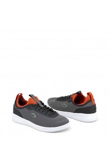 Pantofi sport Lacoste 734SPM0024_LT-SPIRIT_DRKGRY-RED
