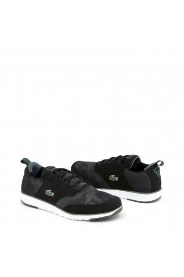 Pantofi sport Lacoste 734SPM0022_LIGHT_BLACK-GREEN