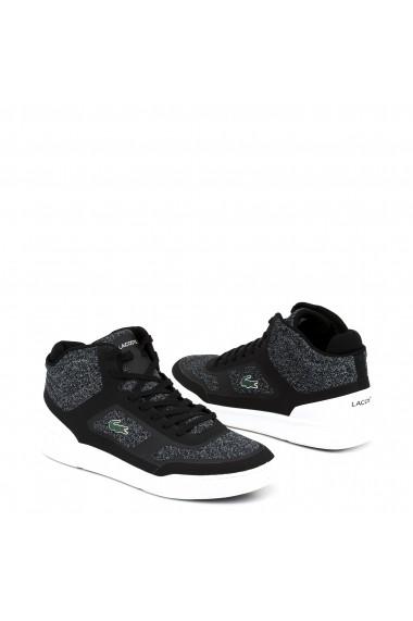 Pantofi sport Lacoste 734CAM0021_EXPLORATEUR-SPT_BLACK-WHITE
