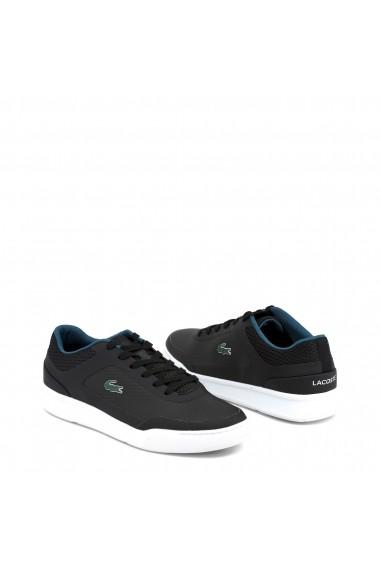 Pantofi sport Lacoste 734CAM0020_EXPLORATEUR-SPORT_BLK-DRKGRN