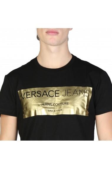 Tricou Versace Jeans B3GSB76V_36620_Y6A Negru