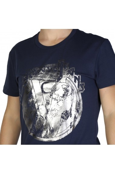 Tricou Versace Jeans B3GSB76S_36610_238 Bleumarin