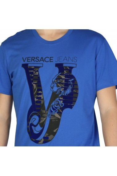Tricou Versace Jeans B3GSB75C_36591_253 Albastru
