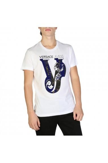 Tricou Versace Jeans B3GSB75C_36591_003 Alb