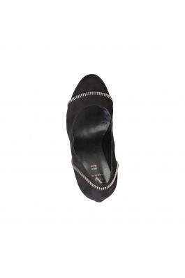 Pantofi V1969 CAROLE_NERO negru - els