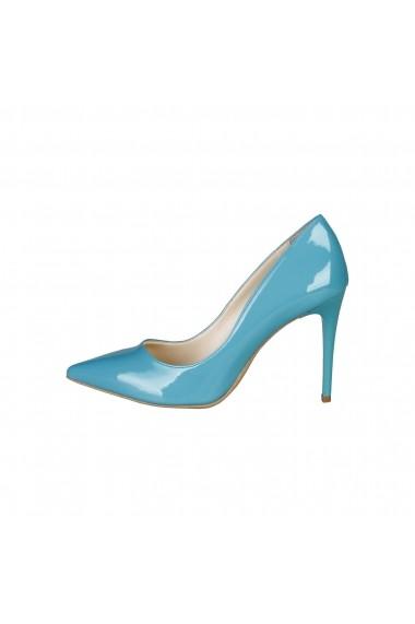 Pantofi cu toc Versace 1969 VIOLAINE VERDEACQUA Turcoaz