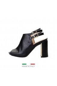 Sandale cu toc V 1969 AMELIE BLACK negru