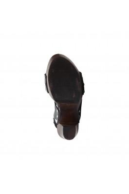 Sandale cu toc V 1969 MARICA NERO negru