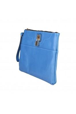 Geanta plic Benetton AGNES albastra