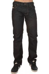 Jeansi Diesel LARKEE negri, cu buzunare, din bumbac - els