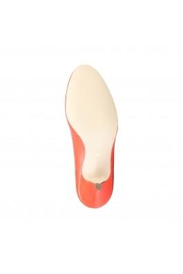 Pantofi cu toc Arnaldo Toscani 7181101 PAPIRO CILIEGIA Portocaliu