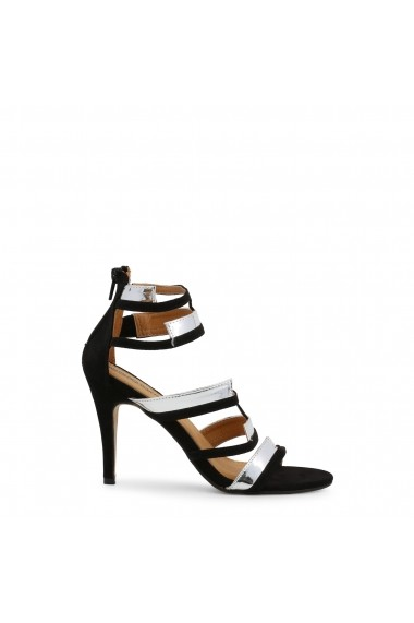 Sandale cu toc Arnaldo Toscani 1218017_ARGENTO Negru