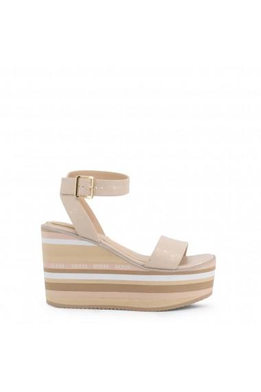 Sandale cu toc Guess FL6RMD_FAL03_RAMADA_BLUSH