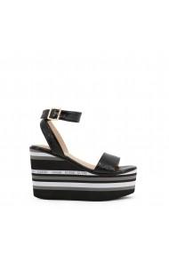 Sandale cu toc Guess FL6RMD_FAL03_RAMADA_BLACK