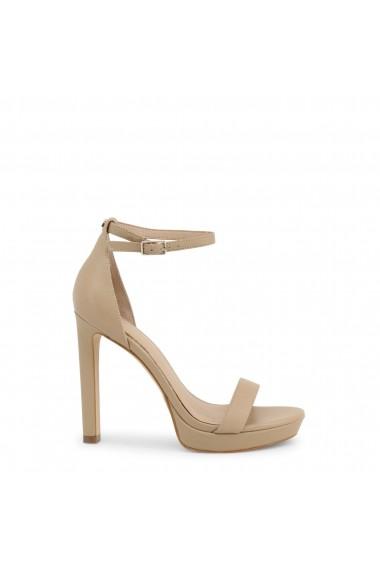Sandale cu toc Guess FL6EIA_LEA03_EIRA_NATURAL
