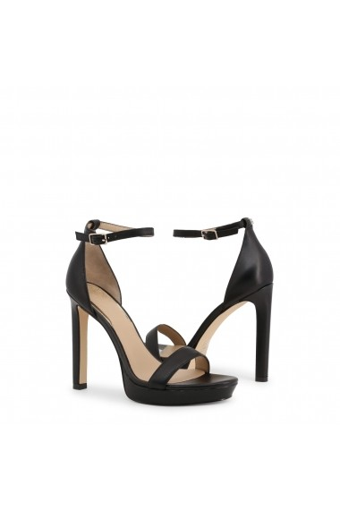 Sandale cu toc Guess FL6EIA_LEA03_EIRA_BLACK