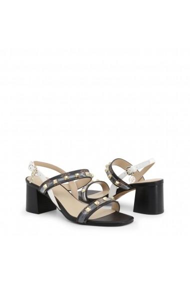 Sandale cu toc Guess FL6CTR_FAL03_CETRI_BROWN-OCRA