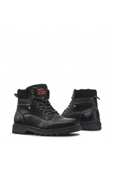 Ghete Carrera Jeans TENNESSE_CAM821001_BLACK Negru