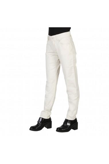 Pantaloni drepti Carrera Jeans 000752 01572 008 negru