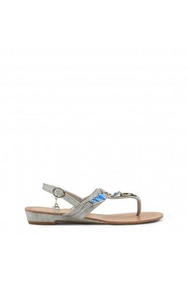 Sandale plate Laura Biagiotti 713 METAL SILVER