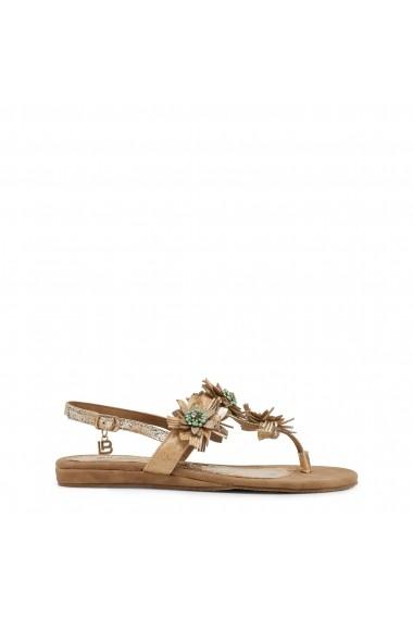 Sandale plate Laura Biagiotti 717 NABUK BEIGE
