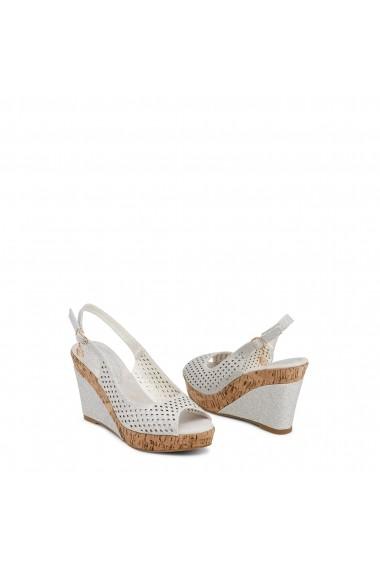 Sandale cu toc Laura Biagiotti 705_NUT_SILVER