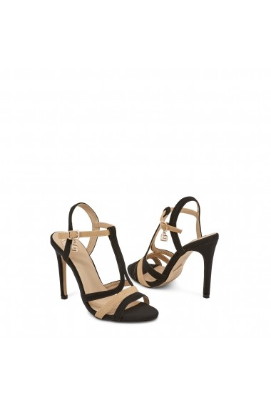 Sandale cu toc Laura Biagiotti 632_NABUK_BLACK