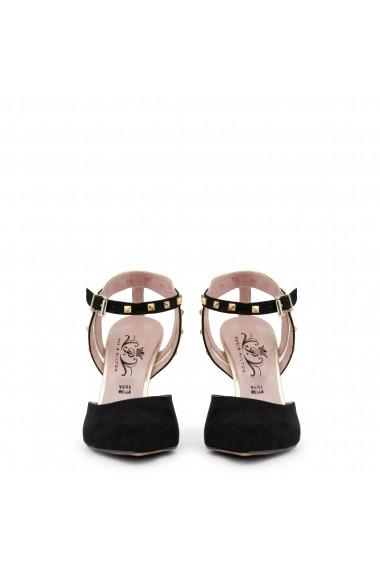 Pantofi cu toc Paris Hilton 2762 NERO-PLATINO