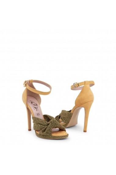 Sandale cu toc Paris Hilton 8607_PLATINO-NERO-PESCA