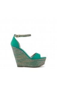 Sandale cu toc Paris Hilton 3582_VERDE Verde
