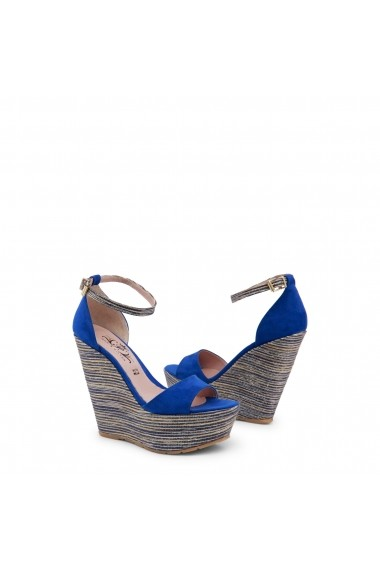 Sandale cu toc Paris Hilton 3582_BLUETTE Albastru