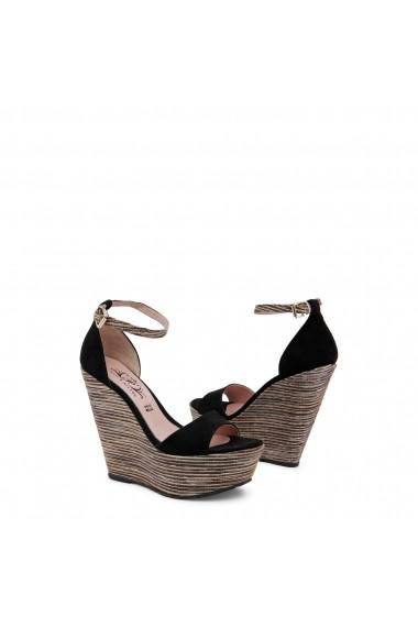 Sandale cu toc Paris Hilton 3582_NERO Negru - els