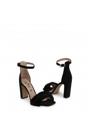 Sandale cu toc Paris Hilton 1520_NERO Negru